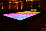 LED Dance Floor - Personalized computer controlled LED Dance Floor!  Sizes up to 23'x23'.  Multiple designs and layout arrangements.  Endless color options.  Fits any celebration.  Smooth transitions between colors.  Over 250 patterns!  Ramp system available for a total dance area of 31'x27'!  You're welcome to call 610.393.3339 for more information for visit www.RockinDanceFloor.com!